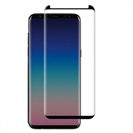 Case Friendly Tempered Glass 0.3mm 9H For Samsung G965 Galaxy S9 Plus Full Cover