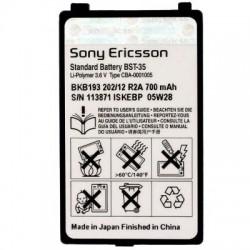 Μπαταρία Sony Ericsson BST-35 Li-Polymer 3.6V 700 mAh Original