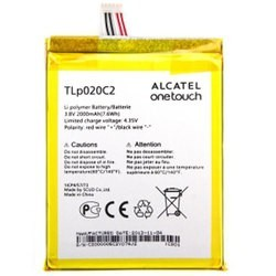 Μπαταρία Alcatel TLp020C2 - CAC2000012C2 Li-Polymer 3.8V 2000mAh Original
